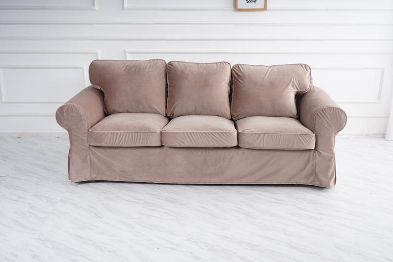 Custom Made Cover Fits Ikea Ektorp 3 5 Seat Sofa Cover 3 5 Etsy Ektorp Sofa Ektorp Sofa Cover Sofa