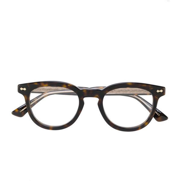 b0355c69753 Gucci Eyewear round frame glasses ( 318) ❤ liked on Polyvore featuring  accessories