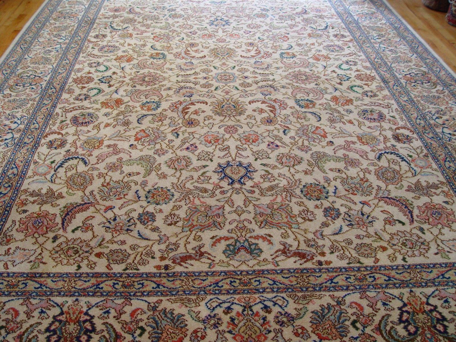 8 8 Quot X 12 Karastan Tabriz 738 Usa Wool Area Rug Hand