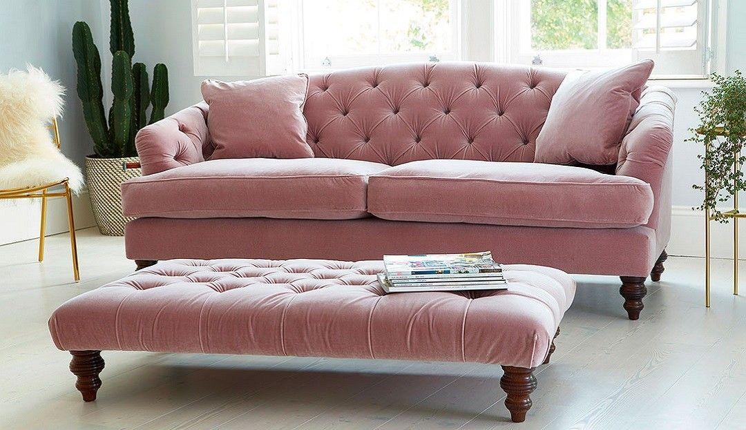 Paisley Footstool Paisley Sofa Leather Corner Sofa Pink Velvet Couch