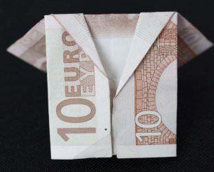 Geldschein Jacke falten | Geld falten geburtstag, Geld
