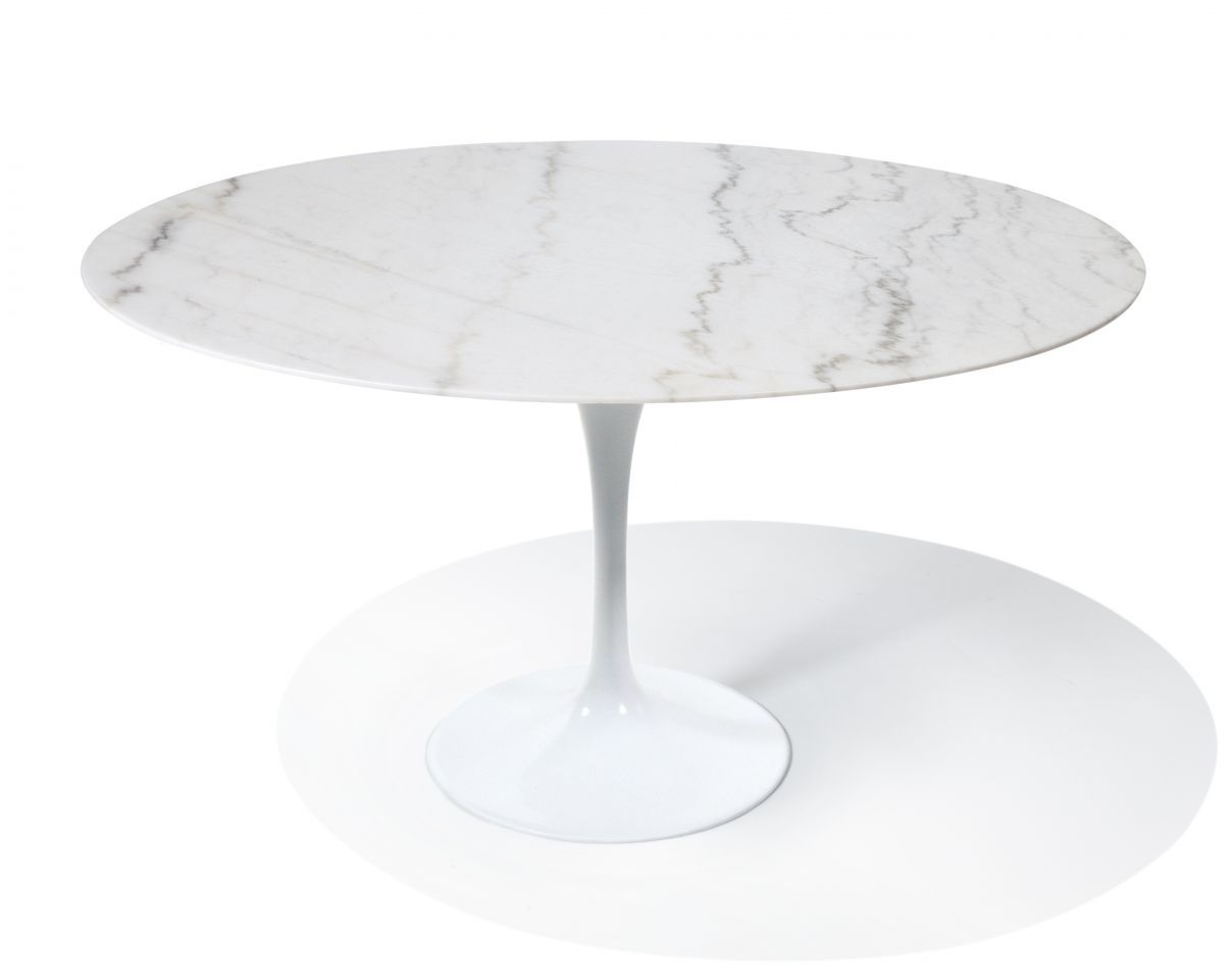 Saarinen Round Tulip Table   Calacatta Gold Marble | Mid Century Modern  $1195 Roveconceptd.vom