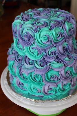 Teen Girl Birthday Cake Rose More