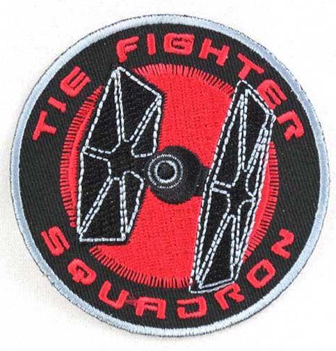 Star Wars Clone Wars Embroidered Jedi Starfighter Patch