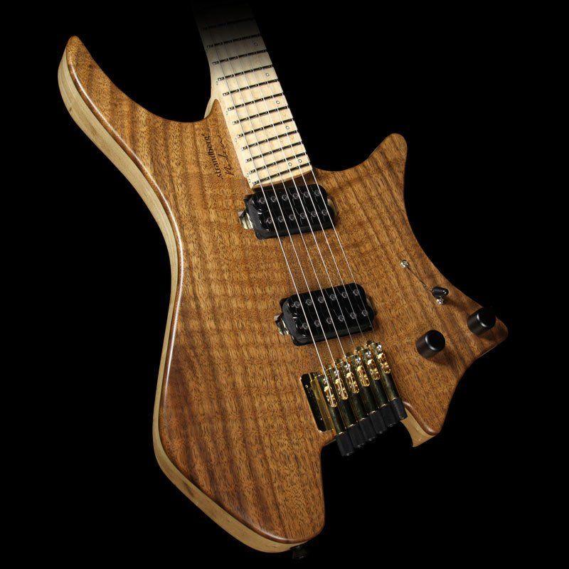 Strandberg Custom Shop Boden 6 Electric Guitar Natural with Bare Knuckle Juggernauts