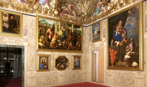 Musei di Strada Nuova - Palazzo Rosso, Sala dell'Autunno  ©MuseidiStradaNuova