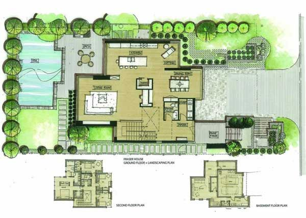 Award Winning Fraser Residence On A Sloping Site Freshome Com Fraser Residence Simple House Plans Architect