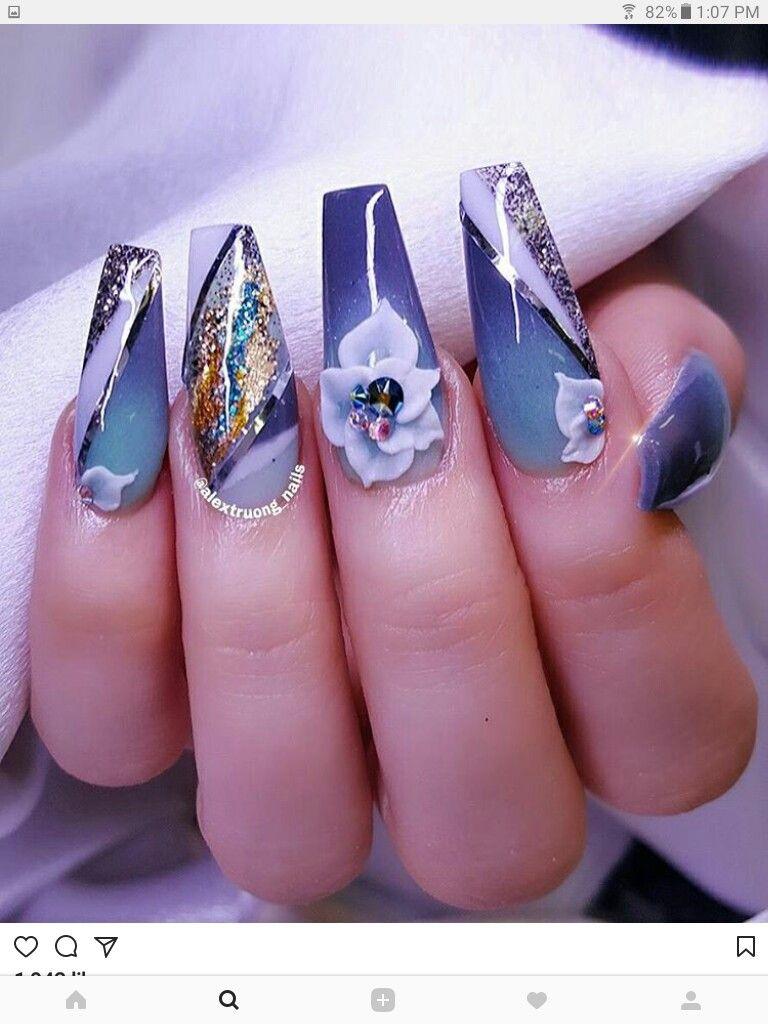 Pin by Ramatu Koroma on Nail Art Designs | Pinterest | Designer nails