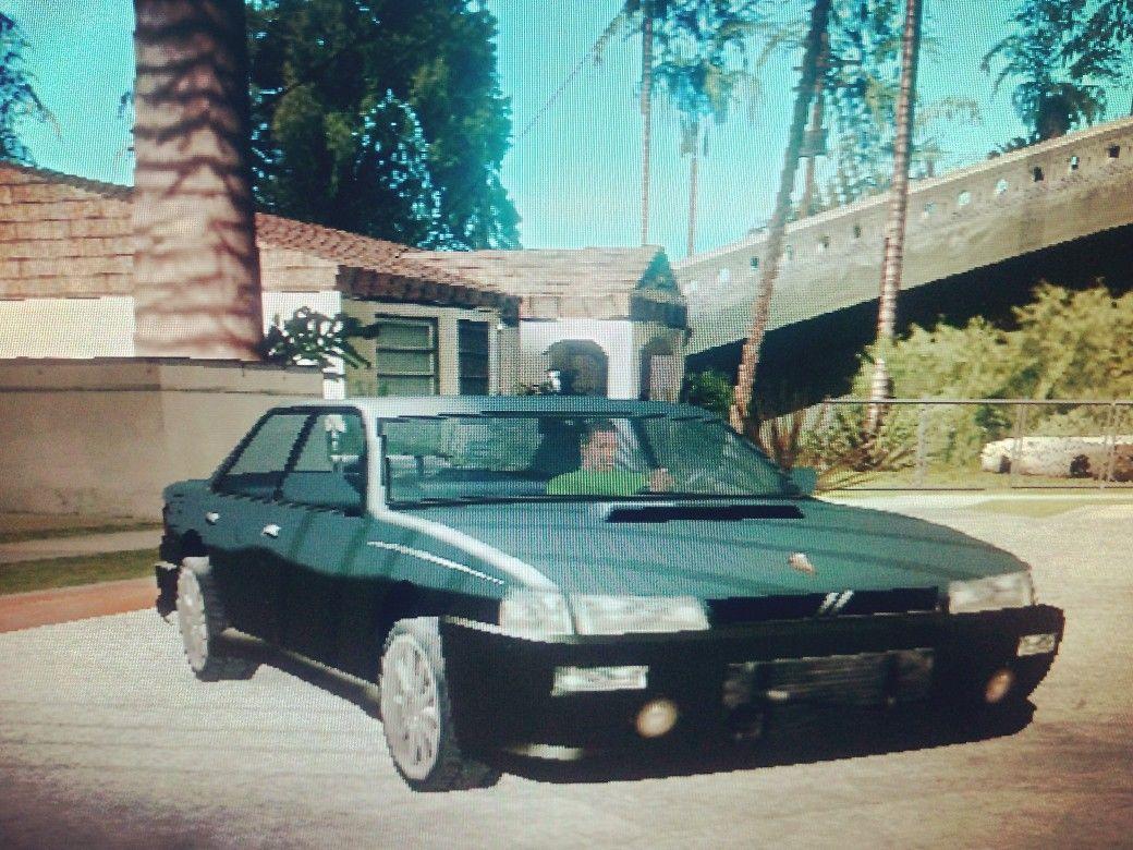 Sultan Sedan Cars San Andreas Sedan