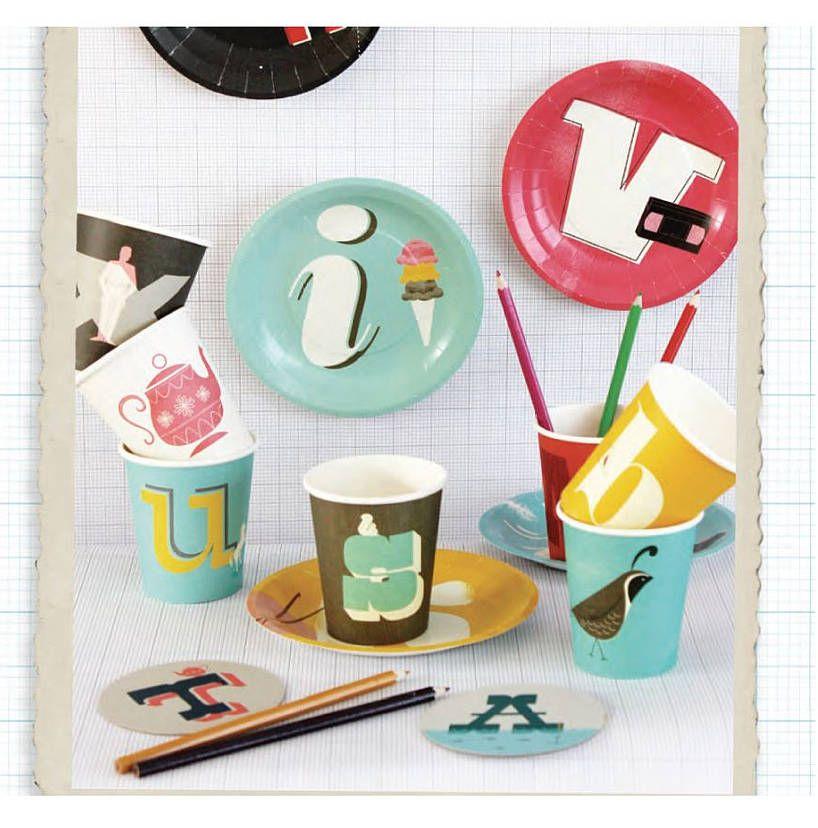 Alphabet Paper Plates And Cups & Alphabet Paper Plates And Cups | Cups Birthday party ideas and ...