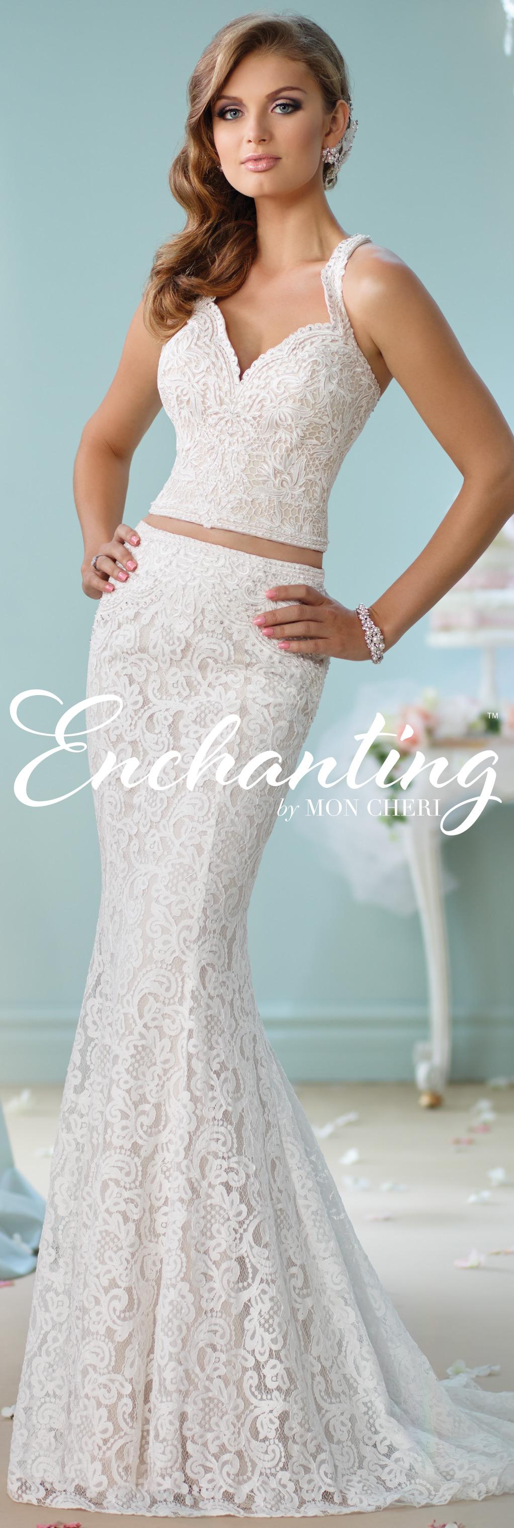Modern Wedding Dresses 2018 by Mon Cheri | Vestidos de novia, De ...