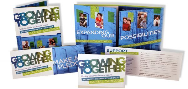 Synagogue Launches Capital Campaign to Expand Space brochure - capital campaign manager sample resume