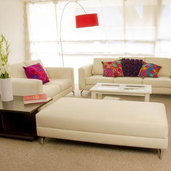 Compra sala kei 3 2 taburete modelo linne beige for Compra de muebles por internet