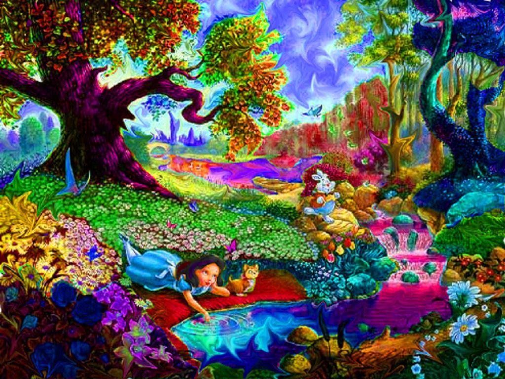 Alice In Wonderland Trippy Wallpaper Trippy Pictures