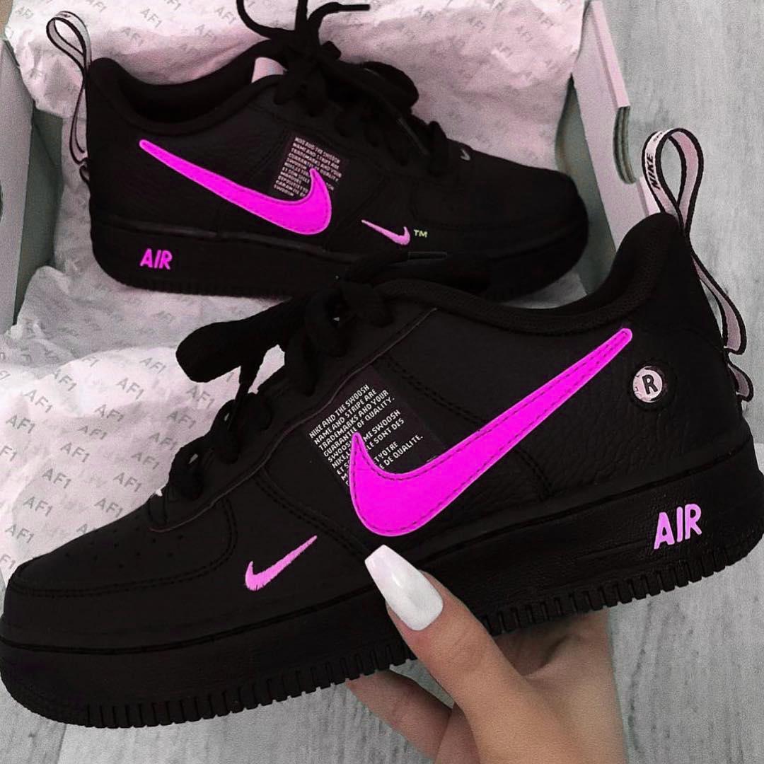 nike presto feminino preto com rosa