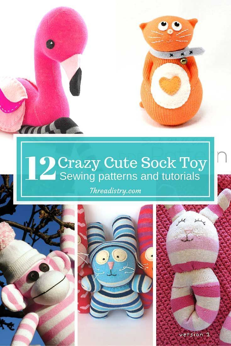 Stuffed toys from socks do it yourself: master class 100
