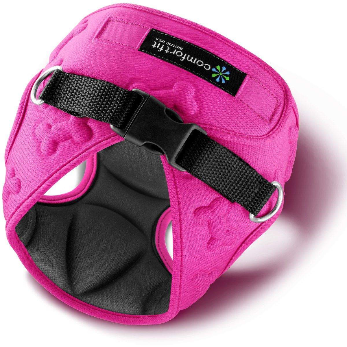 Small Dog Harness Pink Small dog harness, Puppy