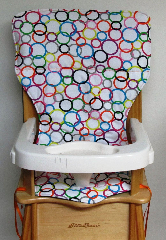 High Chair Pad Eddie Bauer Wood Chair Feeding Accessory Baby