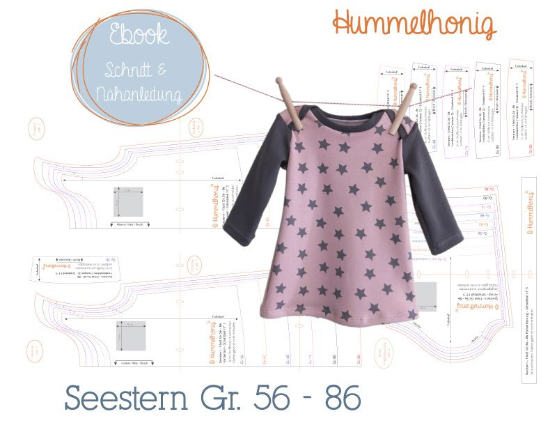 Ebook Babykleid Seestern (Gr. 56-86) | Ebooks - Schnittmuster ...