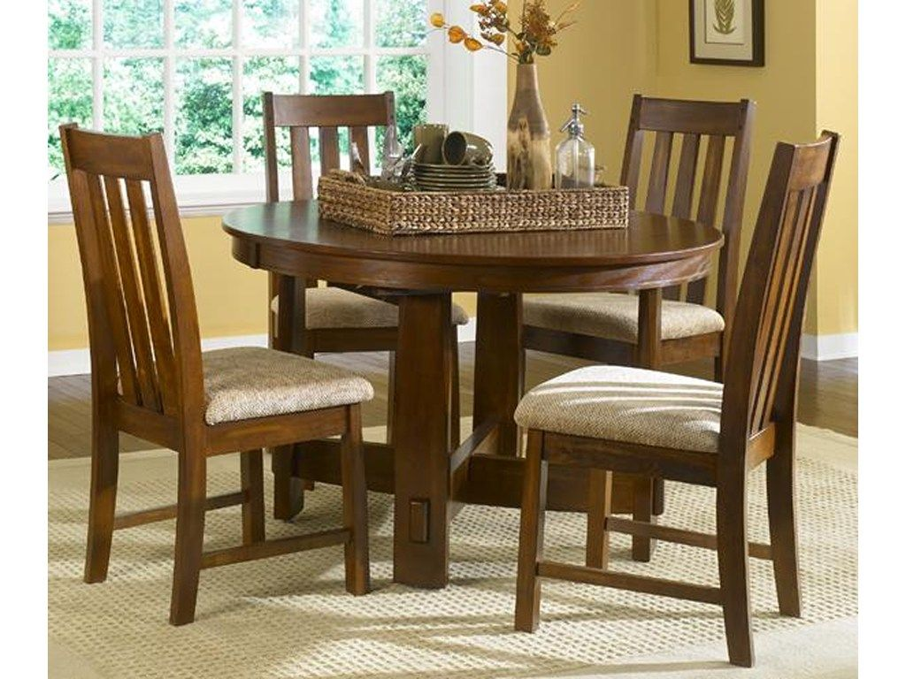 Liberty Furniture Urban Missionleg Table Casual Dining Table