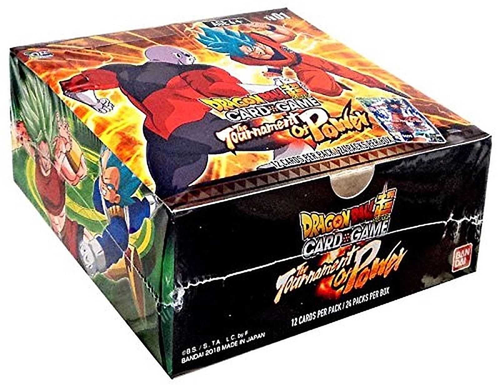 Ccg sealed booster packs 183456 dbs dragon ball super tcg