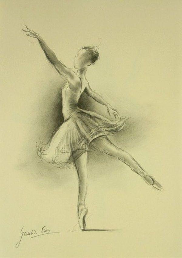Картинки карандашом балета