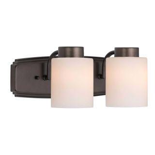 "Photo of Dolan Designs 3502-62 Heirloom Bronze 2 Light 6 ""Height Bathroom Vanity Light – LightingDirect.com"