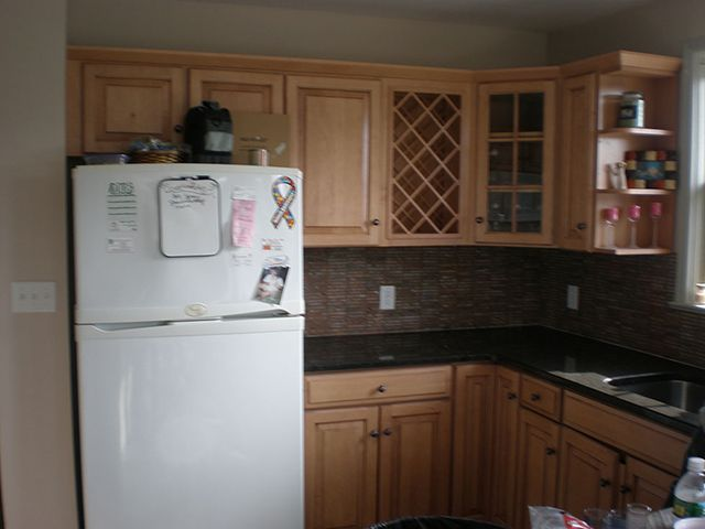 Remodeled Kitchen Cabinets #cabinets #carpentry #remodel #kitchen ...