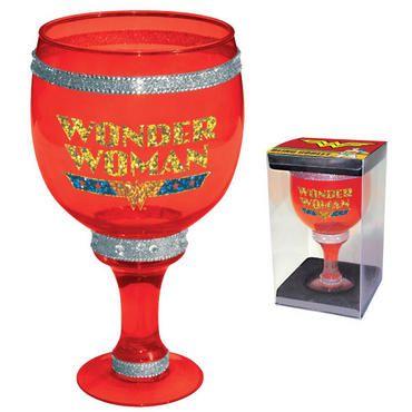 Wonder Woman Bling Goblet $24.95... yes please :)