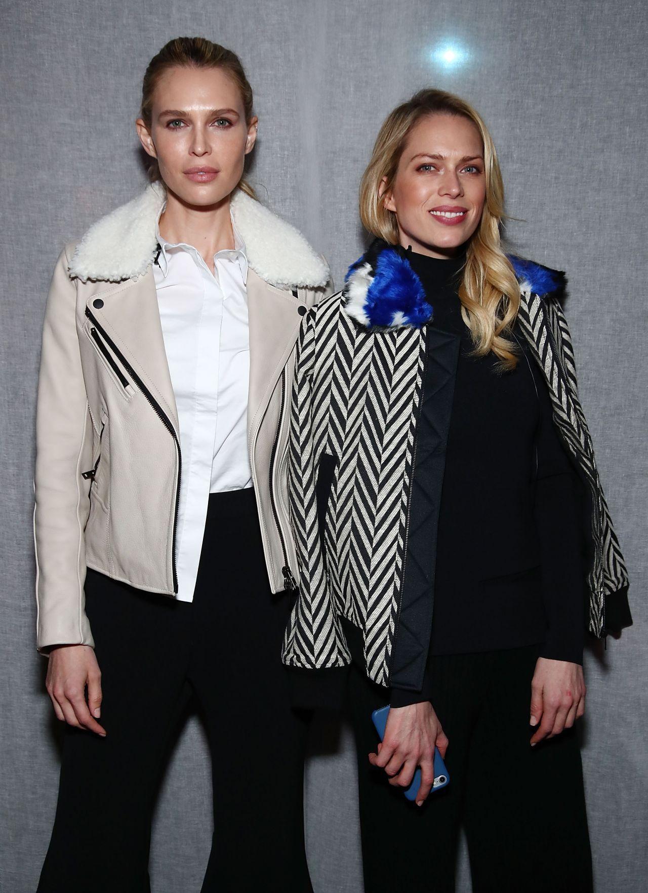 Erin Foster Sara Foster   #ErinFoster Milly Fashion Show at NYFW 10/02/2017 Celebstills E Erin Foster S Sara Foster