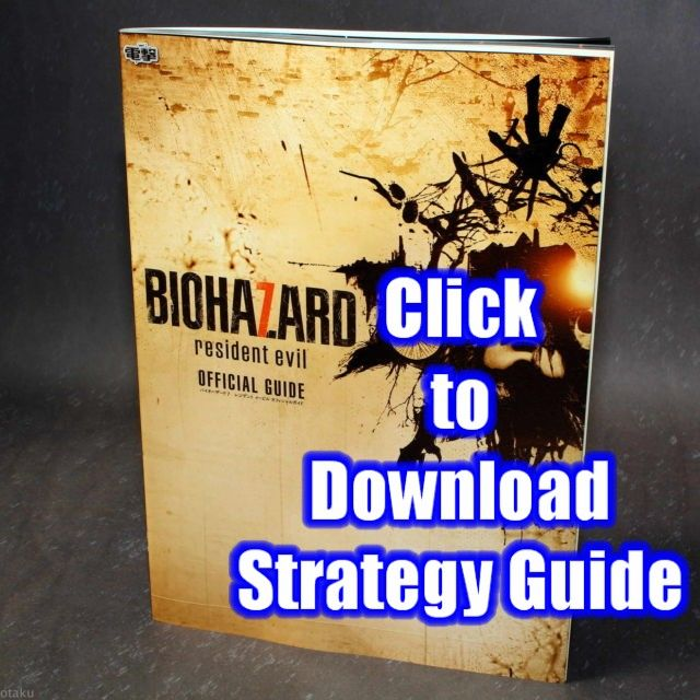 Resident Evil 7 Biohazard free strategy guide PDF download