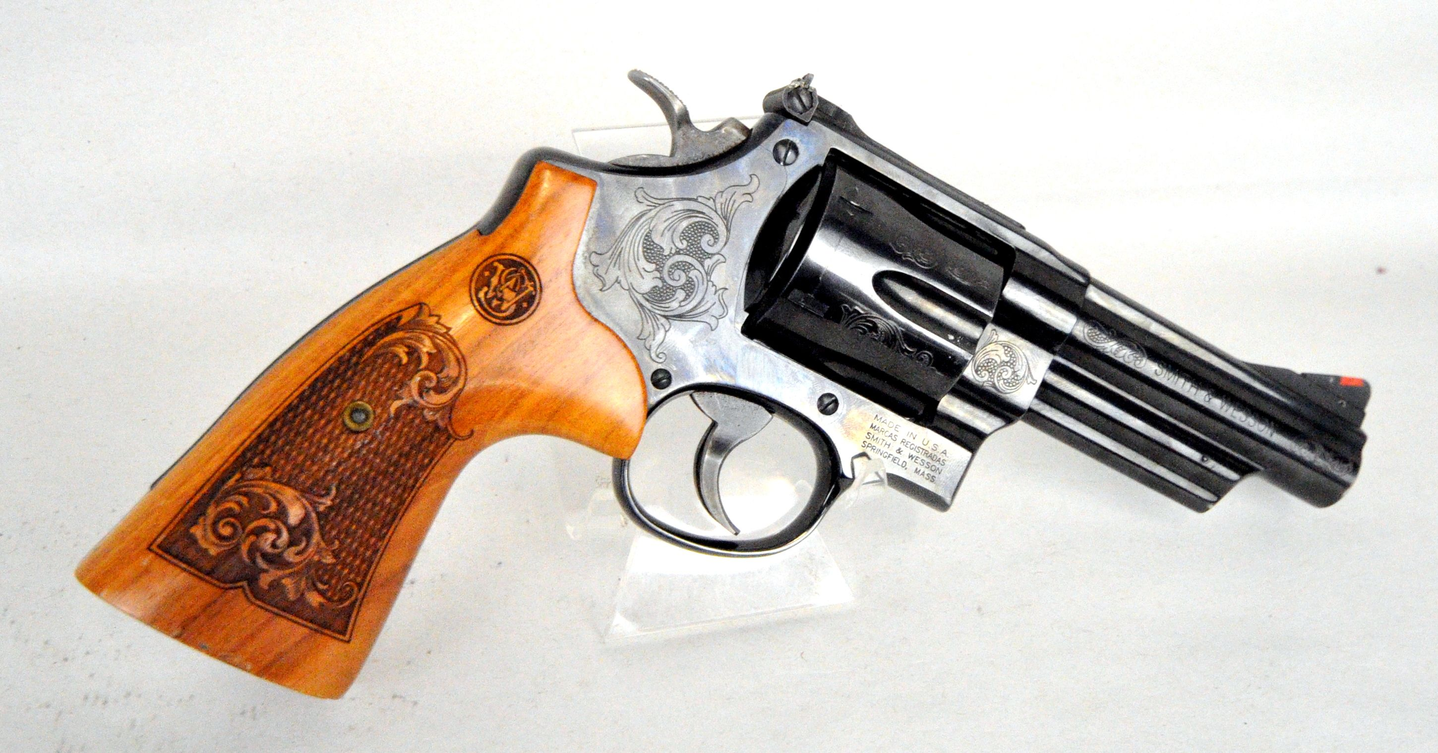 Smith & Wesson Model 29-10 Machine Engraved .44 Mag. The ...