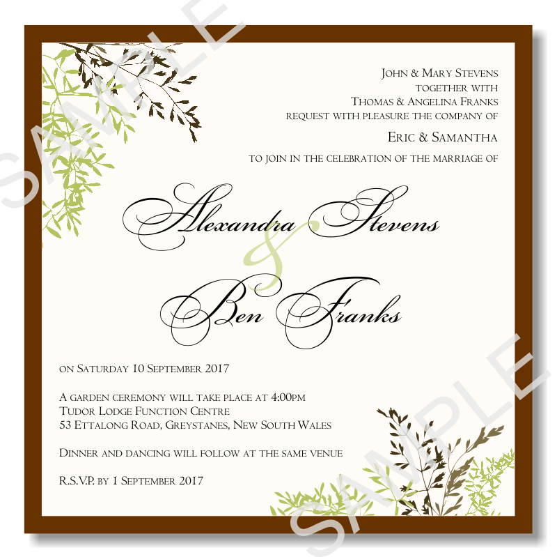 1000+ images about Wedding Invitation Templates on Pinterest ...