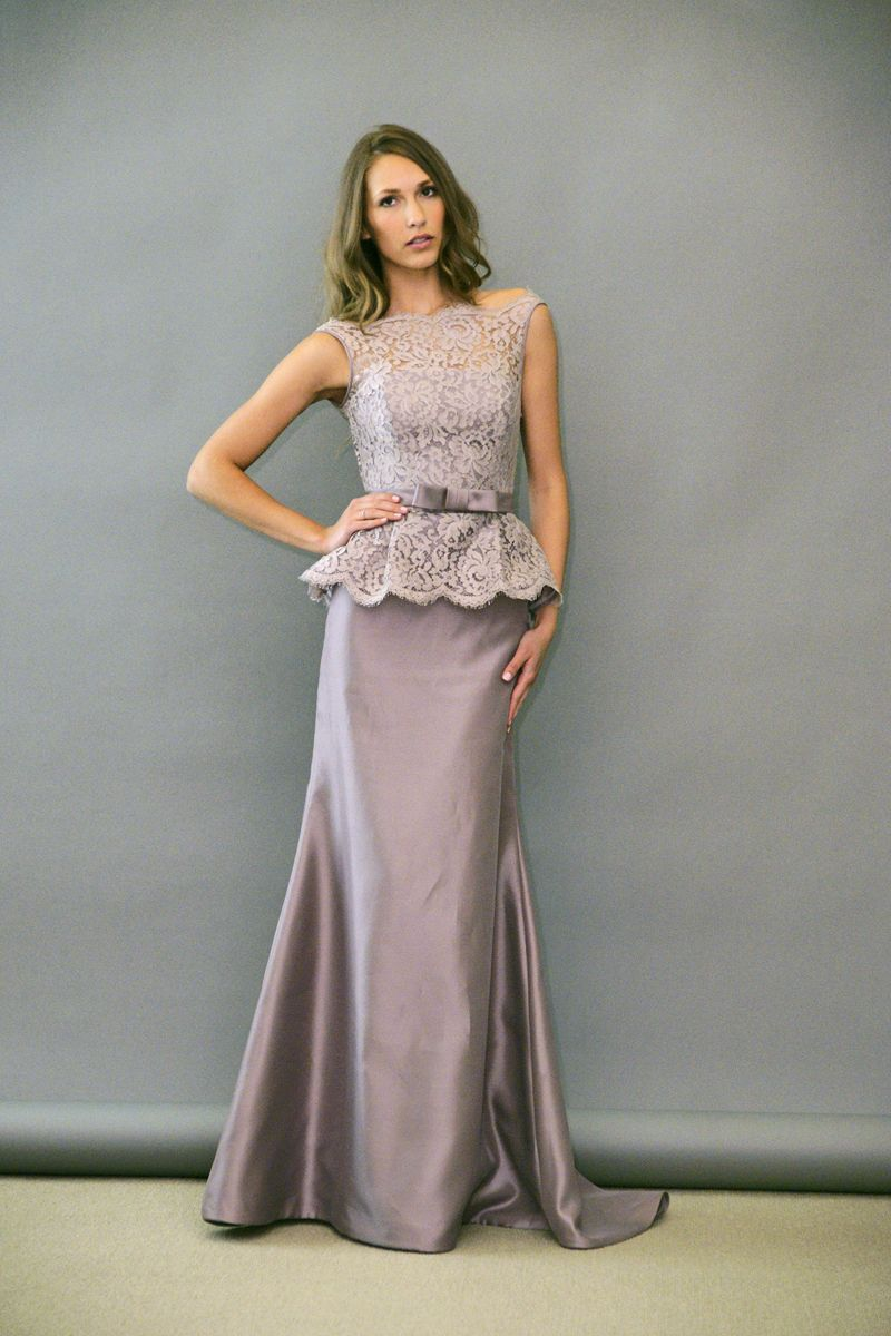 What about this style for a bridesmaids dress just throwing it grey dress noir by lazaro ombrellifo Gallery