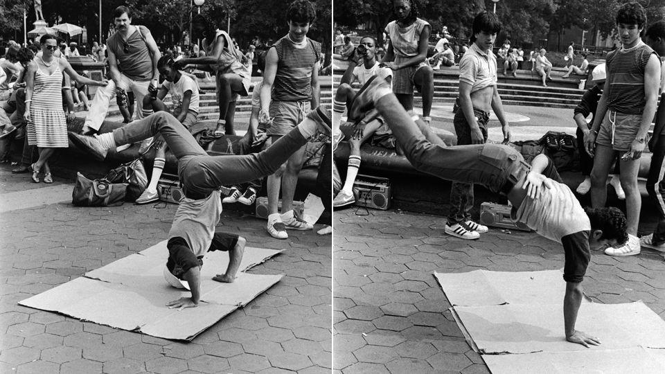 Retro New York breakdancing. | Till The End | Hip hop ...