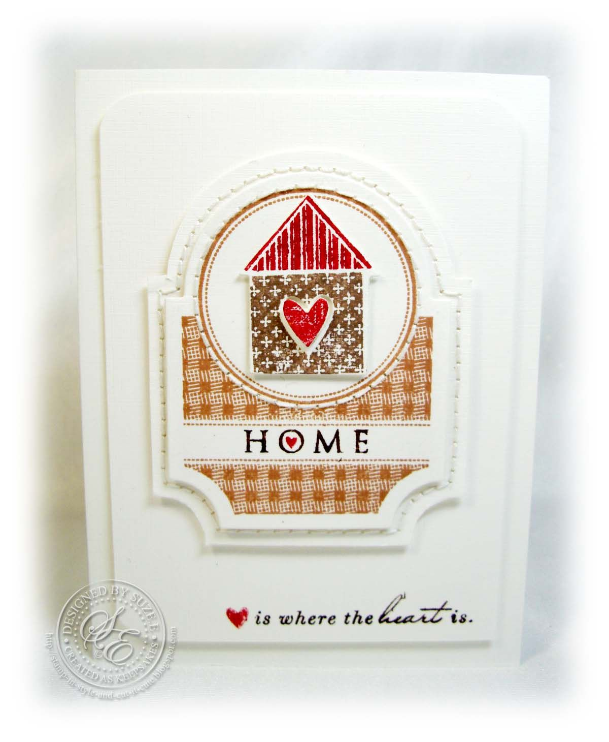 {capture the moment}: Make It Monday #78: Stamping and Stitching On Die Cuts