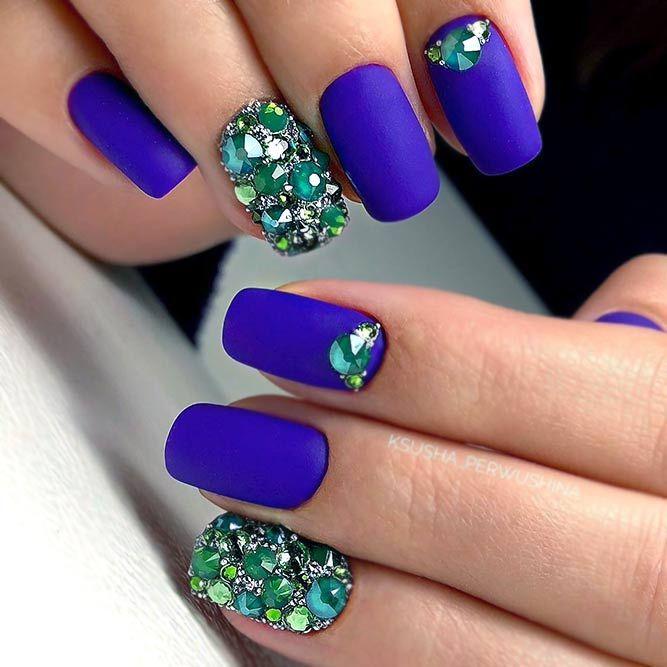 cool matte nails 20