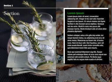 Contemporary Cookbook Template For IBooks Author, Available At  Http://ibooksauthortemplate.com