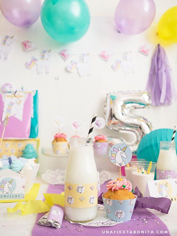 decoracion fiesta unicornios