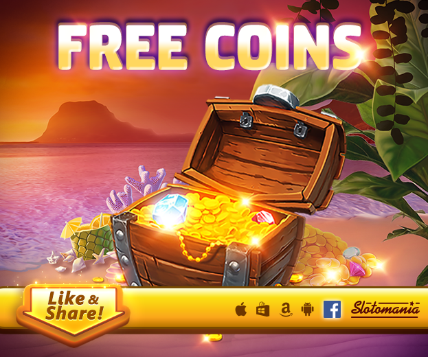 Slotomania Free Coins For Everyone. You Get all free codes