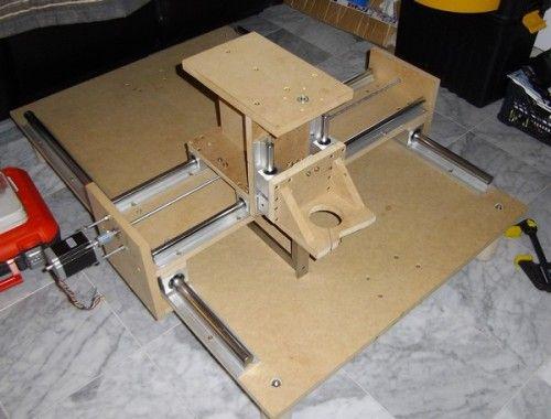 Construction D Une Table De Fraisage A Commande Numerique Diy Cnc