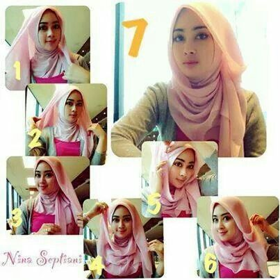 Hijab Segiempat Kerudung Hijab Gaya Hijab