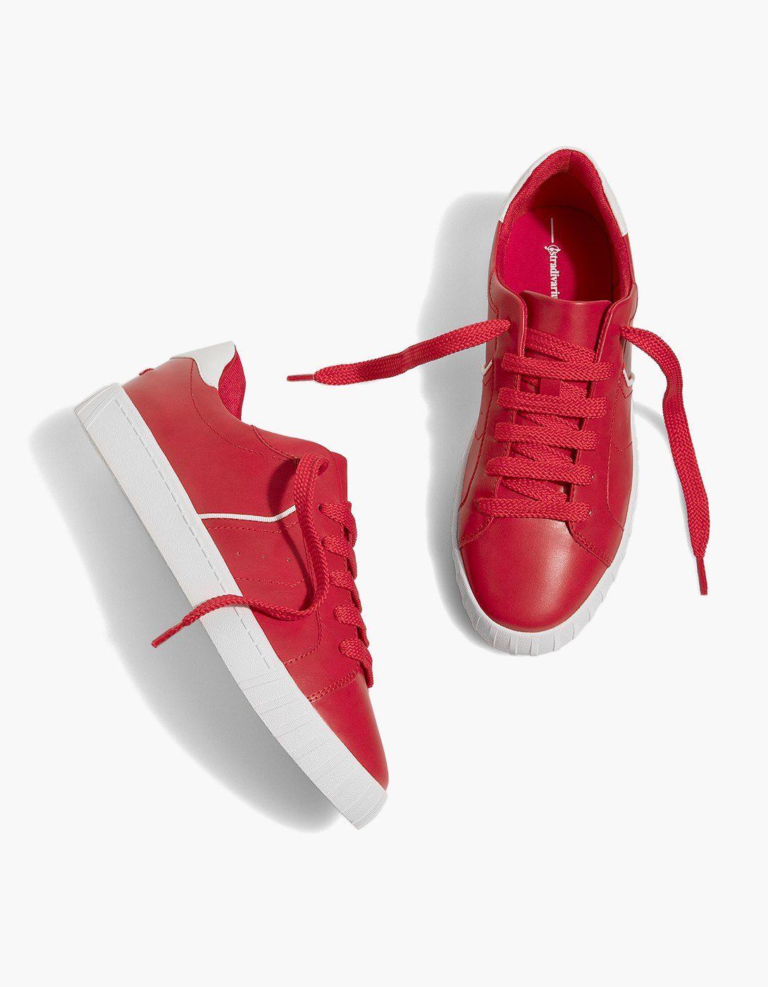 42716388c16 Zapatilla cordones roja - Todos