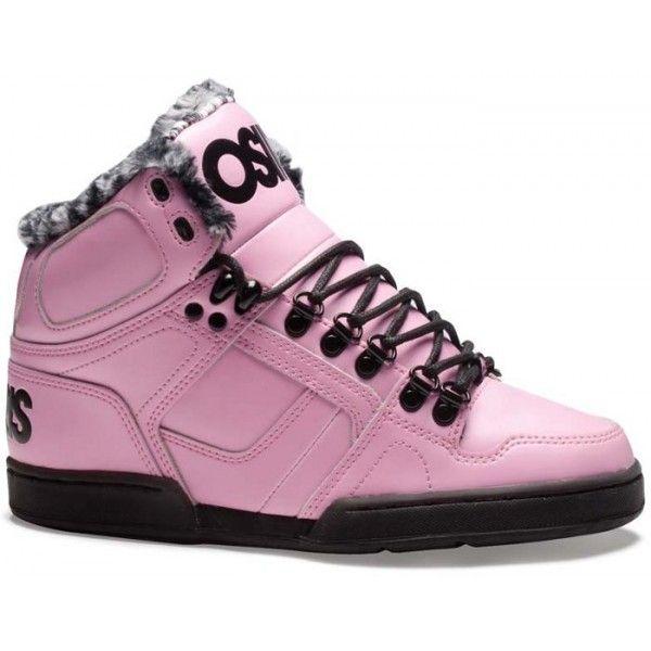 d4d7b61277 Osiris NYC 83 Shearling Shoes - Pink / Black / Cheetah | Osiris ...
