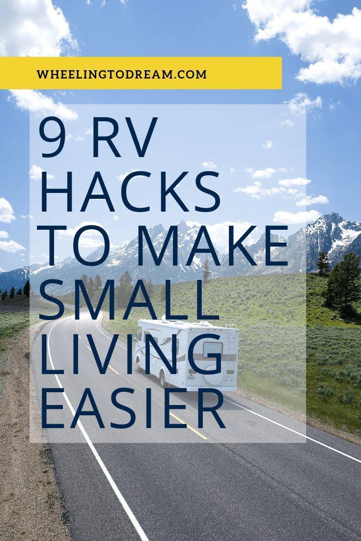 9 RV Hacks That Make Small Living Easier
