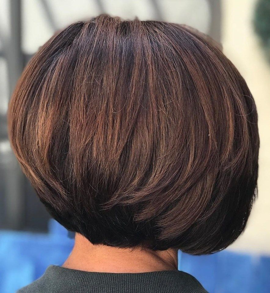 60 Classy Short Haircuts And Hairstyles For Thick Hair Short Layered Bob Hairstyles Bob Hairstyles For Thick Haircut For Thick Hair