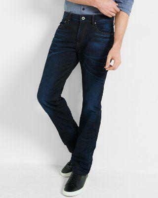 $79 slim fit rocco dark straight leg jean