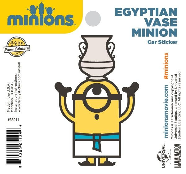 Egyptian vase minion sticker 33011 2 98