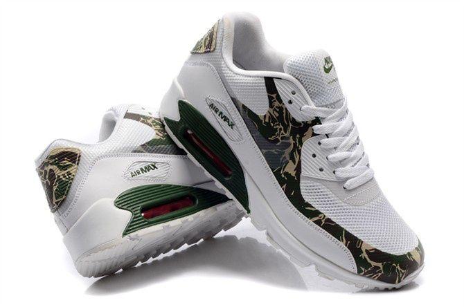 49.99 Nike Air Max 90 Womens Premium Green Camo | Shoes