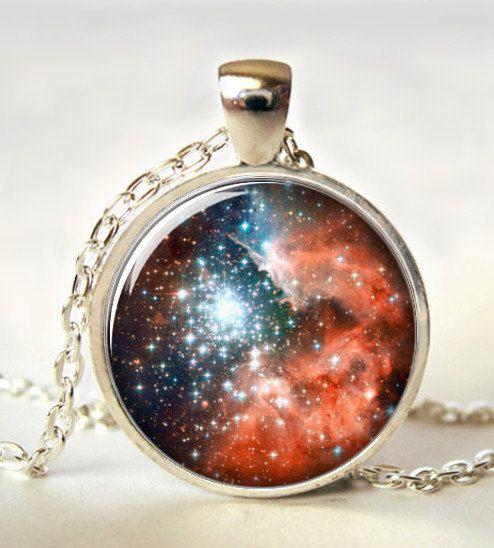Galaxy necklace